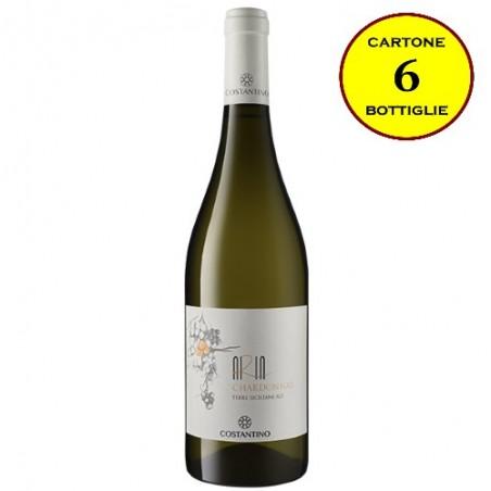 "Chardonnay Terre Siciliane IGT ""Aria Siciliana"" - Costantino Wines (cartone da 6 bottiglie)"
