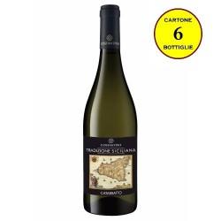 """Catarratto Terre Siciliane IGT """"Tradizione Siciliana"""" - Costantino Wines (cartone da 6 bottiglie)"""