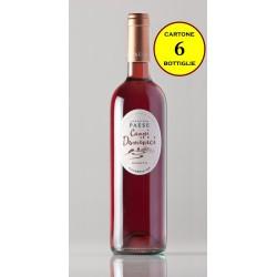 "Calabria IGP Rosato ""Campi Domìnici"" - Tenute Paese (cartone da 6 bottiglie)"