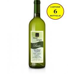"""Vino Bianco Tranquillo """"Beato"""" - Moro Sergio (cartone da 6 bottiglie)"""