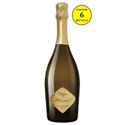 """Spumante di Falanghina Brut Metodo Charmat """"Felicant"""" - Rotola Azienda Agricola (cartone da 6 bottiglie)"""