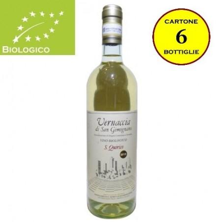Vernaccia di San Gimignano DOCG Tradizionale Bio - San Quirico (cartone 6 bottiglie)