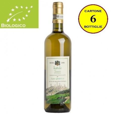 """Vernaccia di San Gimignano DOCG Riserva Bio """"Isabella"""" - San Quirico (cartone 6 bottiglie)"""