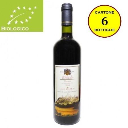 """Toscana Rosso IGT Bio """"Il Botticello"""" - San Quirico (cartone 6 bottiglie)"""