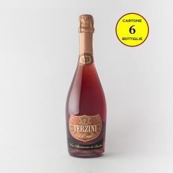 Spumante Brut Rosé VSQ Metodo Charmat - Cantina Terzini (cartone 6 bottiglie)