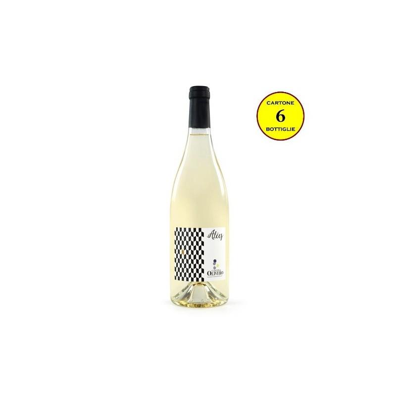 """Moscato Greco """"Alèes"""" - Cantina Olivero (cartone da 6 bottiglie)"""