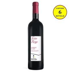 "Barbera d'Asti DOCG ""Terre Rosse"" - Cantina Olivero (cartone da 6 bottiglie)"