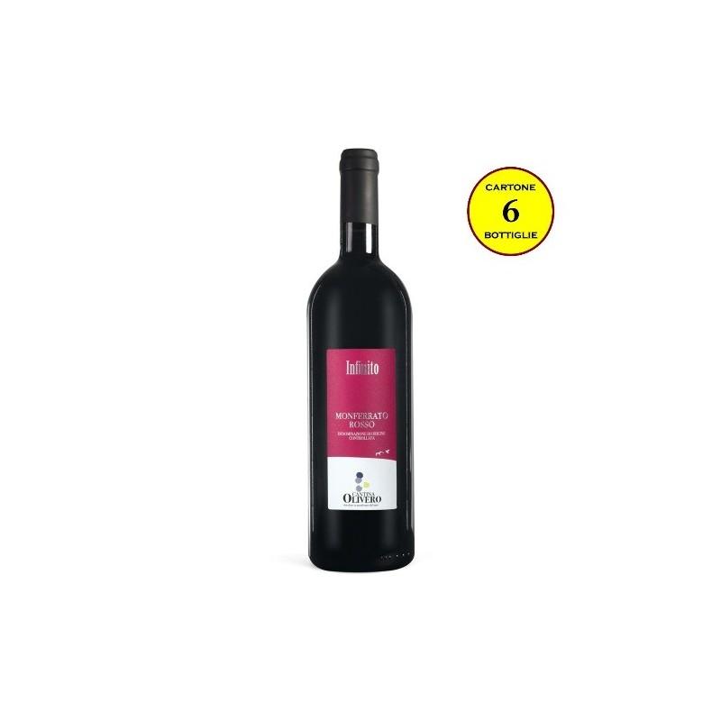 """Monferrato Rosso DOC """"Infinito"""" - Cantina Olivero (cartone da 6 bottiglie)"""