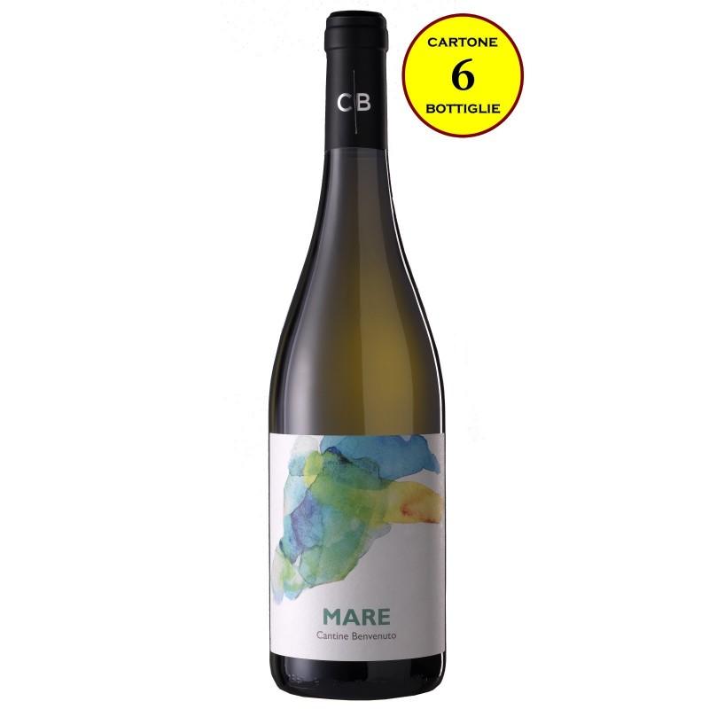 "Calabria Bianco IGP 2016 ""Mare"" - Cantine Benvenuto (cartone 6 bottiglie)"