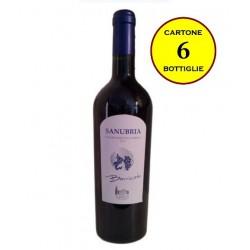 """Sangiovese dell'Umbria IGT barricato 2011 """"Sanubria Barricato"""" - Casali del Toppello (6 bottiglie)"""