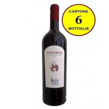 """Sangiovese dell'Umbria IGT 2012 """"Sanubria"""" - Casali del Toppello (6 bottiglie)"""