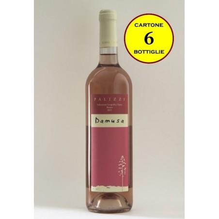 """Palizzi Rosato IGT """"Damusa"""" - Terre Grecaniche (6 bottiglie)"""