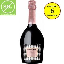 Spumante Rosé Millesimato Linea Redentore (senza solfiti aggiunti) - De Stefani