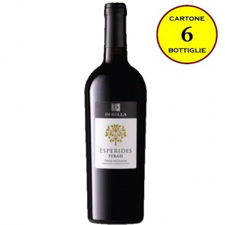 """Syrah Terre Siciliane IGT 2016 """"Esperides"""" - Di Bella Vini (cartone da 6 bottiglie)"""