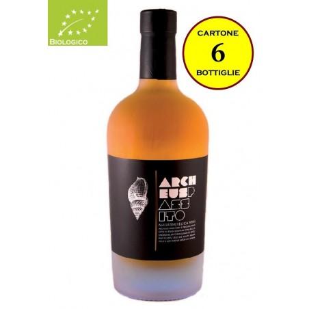 """Passito di Malvasia Colli Piacentini DOC Biologico """"Archeus"""" - Illica Vini (6 bottiglie)"""