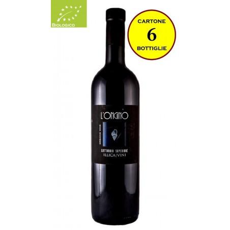 """Gutturnio Superiore Biologico 2013 """"L'Ongino"""" - Illica Vini (6 bottiglie)"""