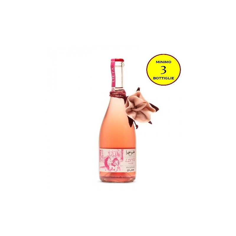 Lieta Rosè Ancestrale Col Fondo - Vini Iseldo Maule