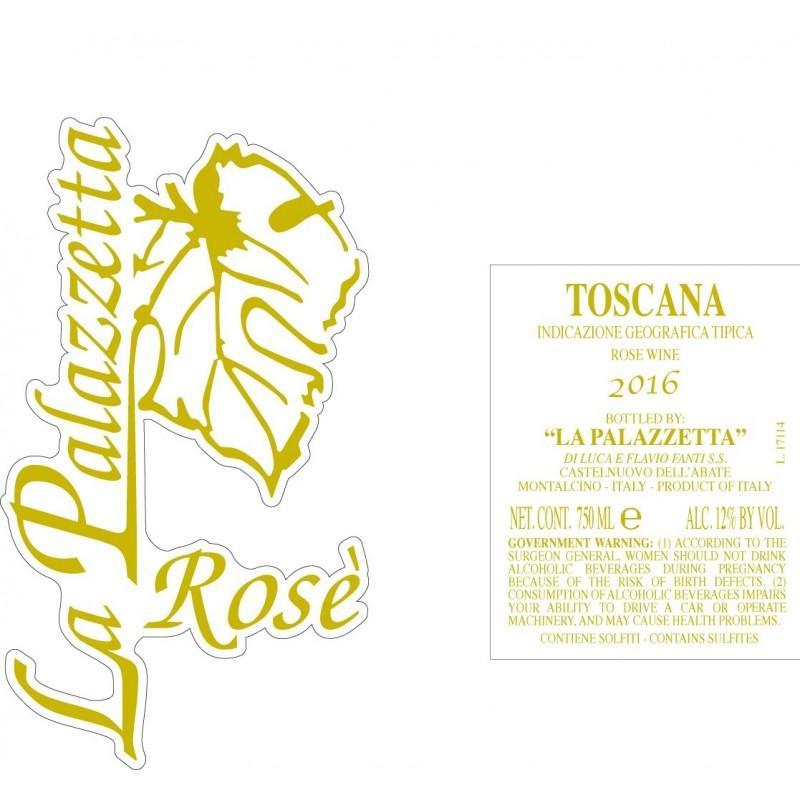 Toscana IGT Rosato 2016 - La Palazzetta di Luca e Flavio Fanti