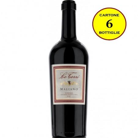 "Toscana Rosso IGT ""Maliano"" - Le Torri (6 bottiglie)"