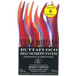 """Buttafuoco DOC Oltrepò Pavese 2009 """"Il Borlano"""" - Marco Vercesi Wine (6 bottiglie)"""