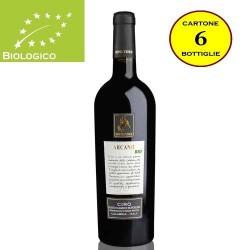 """Cirò Rosso DOP Classico Superiore """"Arcano"""" BIO - Senatore Vini (6 bottiglie)"""