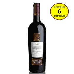 """Calabria Rosso IGP """"Ehos"""" - Senatore Vini (6 bottiglie)"""