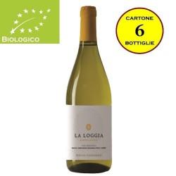 """Incrocio Manzoni Lazio IGT Biologico """"La Loggia"""" - Tenuta Colfiorito (cartone da 6 bottiglie)"""