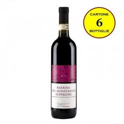 Barbera Monferrato DOCG Superiore 2014 - Cantina Pierino Vellano (cartone da 6 bottiglie)