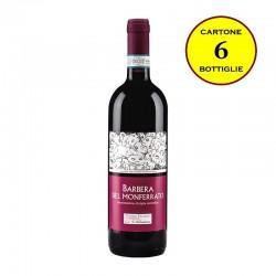 Barbera Monferrato DOC Vivace 2016 - Cantina Pierino Vellano (cartone da 6 bottiglie)