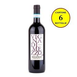 """Barbera Colline Novaresi DOC affinato in legno """"Vigna di Mezzo"""" - Vigneti Valle Roncati (cartone 6 bottiglie)"""